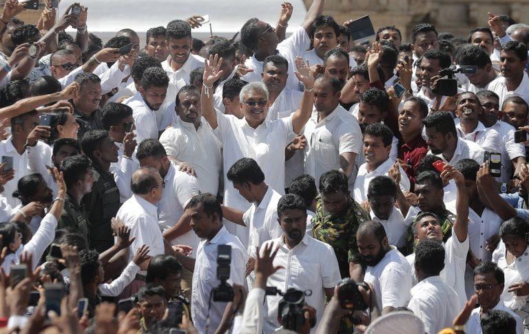 New Delhi's warm words for Sri Lankan President Gotabaya Rajpaksa won't comfort him as much as Beijing's cash