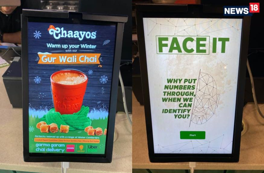 Chaayos says it uses facial data when customers order a cup of tea quickly