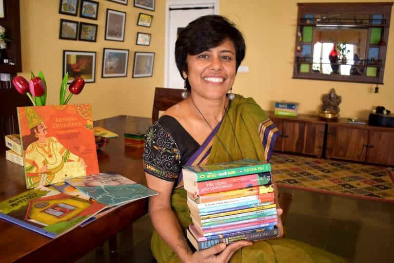 The Computer Engineer Who Simplified the Gita and Vedas for Kids and Seekers