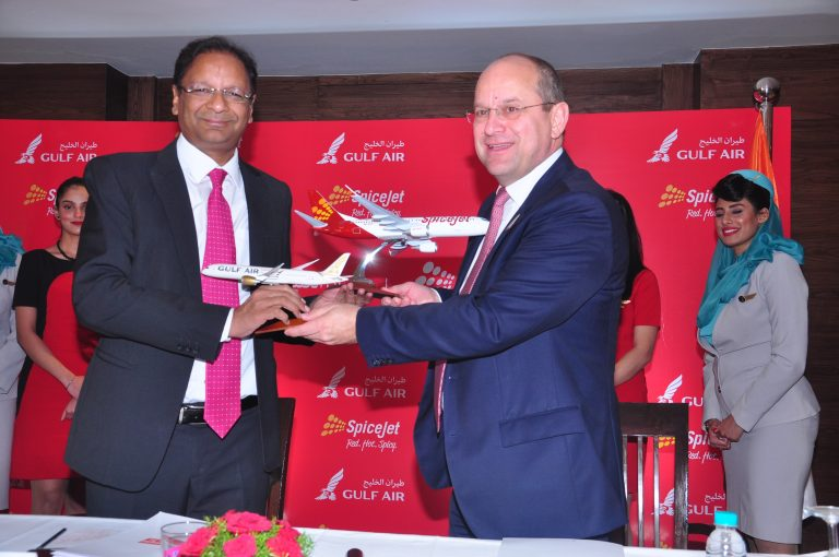 SpiceJet, Gulf Air ink MoU with codeshare ambitions