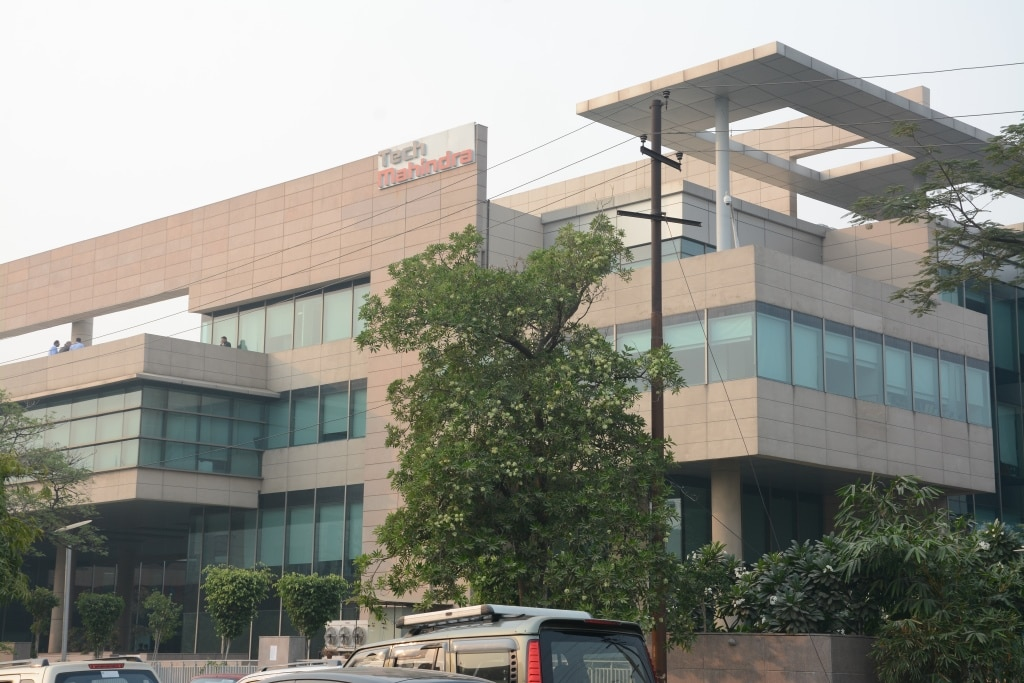 Tech Mahindra: The IT services company reported a higher profit in its September quarter at Rs 1,064.6 crore as against Rs 972.3 crore. Revenue also rose to Rs 9,371.8 crore from Rs 9,106.3 crore QoQ. Meanwhile, the company's subsidiary Tech Mahindra (Singapore) Pte Ltd agreed to acquire a 100 percent stake in Momenton Pty. Ltd, Tenzing Ltd and Tenzing Australia Ltd. (Company Image)