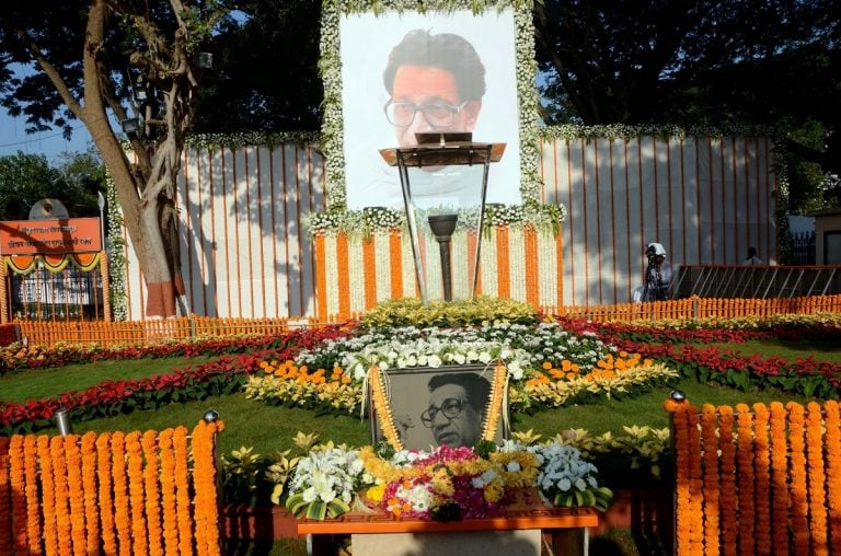 Congress-NCP pay homage to Bal Thackeray, BJP also joins