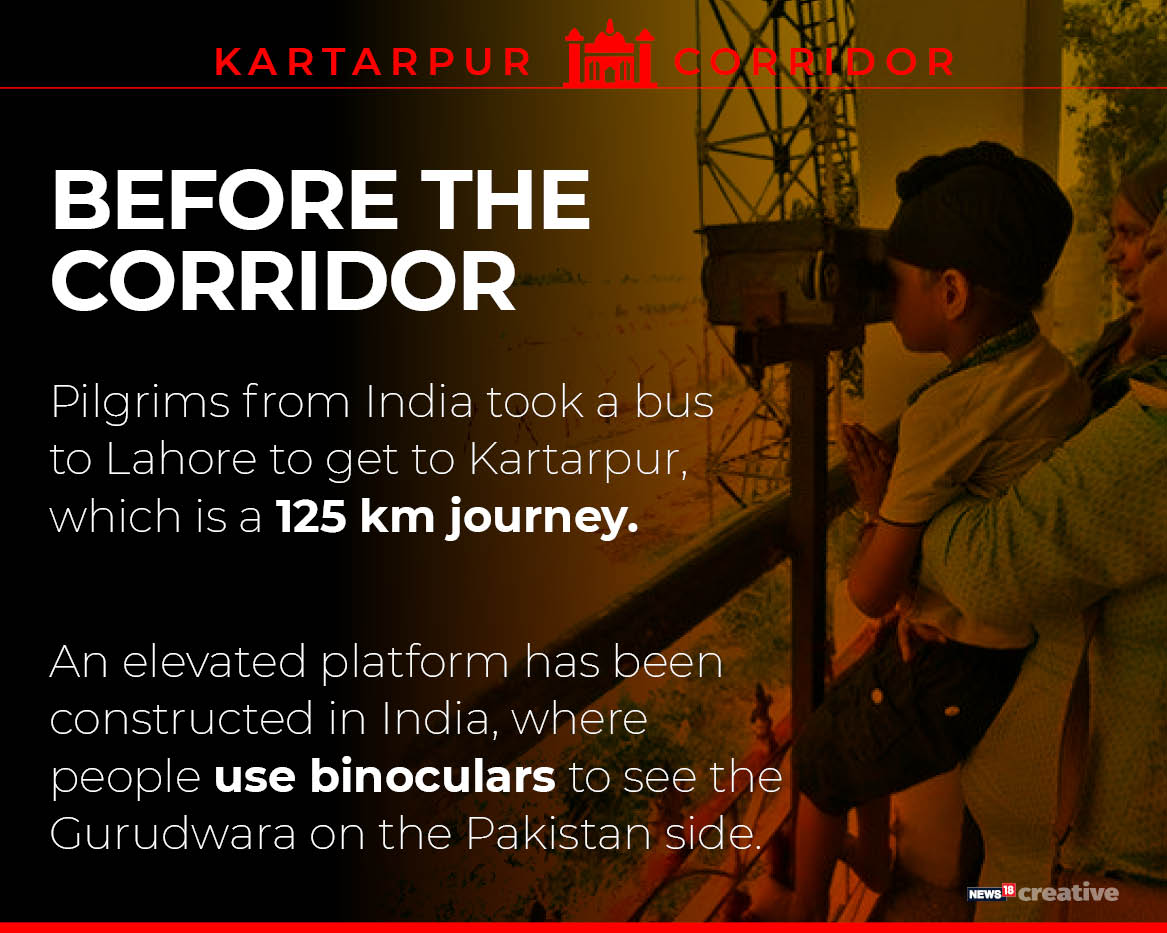 With the opening of the corridor, which has modern amenities and facilities, the pilgrims would be able to visit the holy shrine throughout the year.