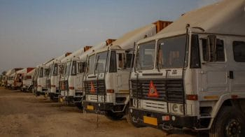 Truck rentals plunge in April; Ashok Leyland, M&M and Eicher down 2-4%