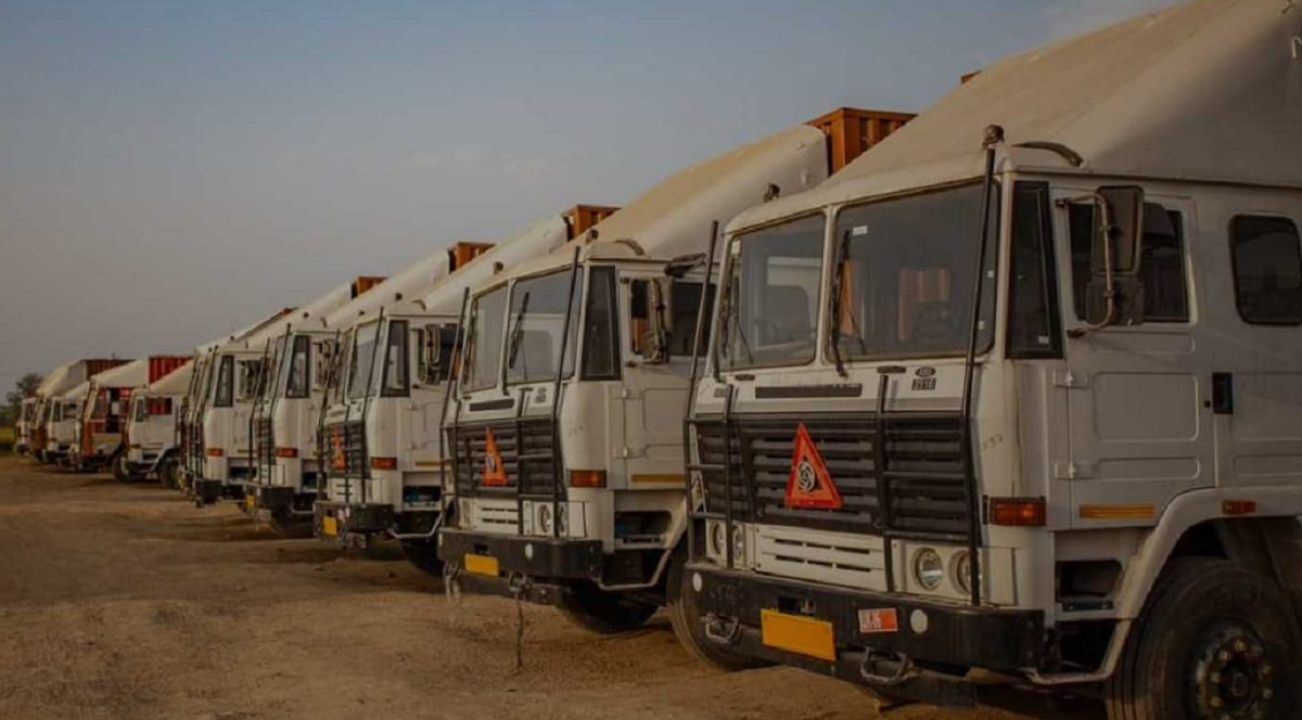 Rivigo, a Gurugram-based firm with total funding of $238 million, is a tech-enabled logistics firm with a truck fleet of its own. (Image Source: Company Website)