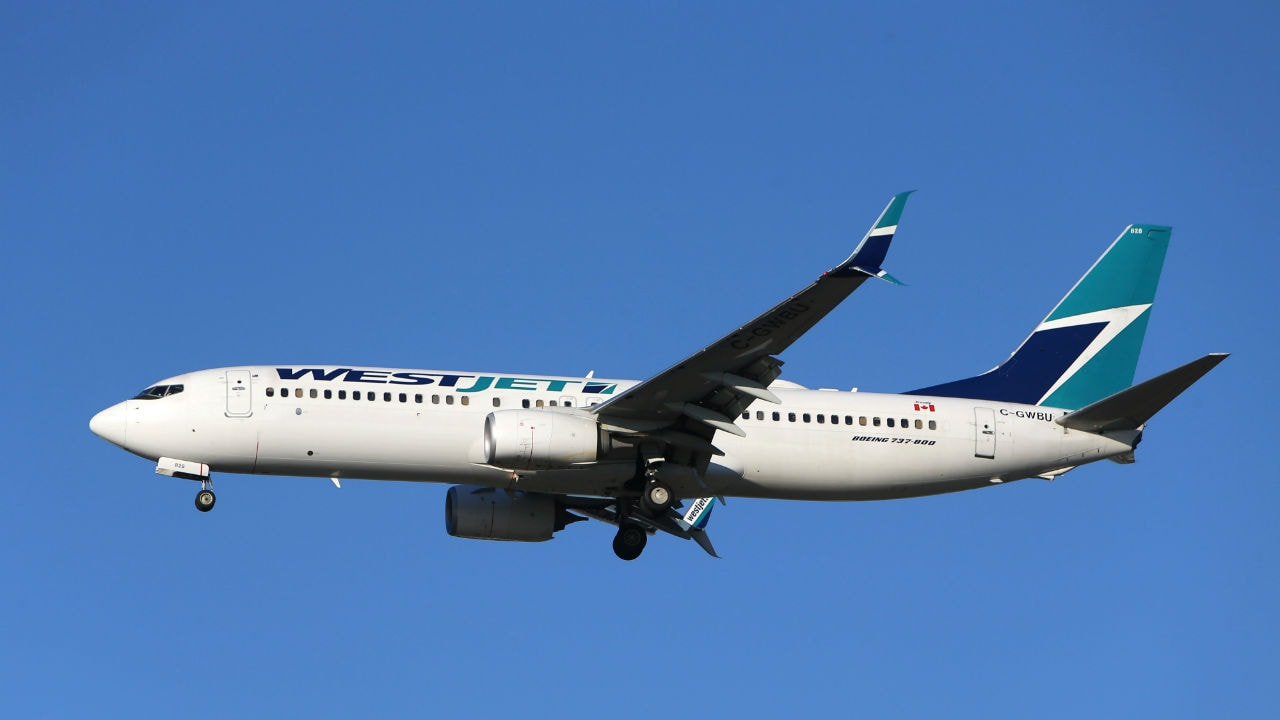 No 6 | Westjet | Country: Canada | Founded: February 1996 | Company slogan: Love where you're going (Image: Reuters)