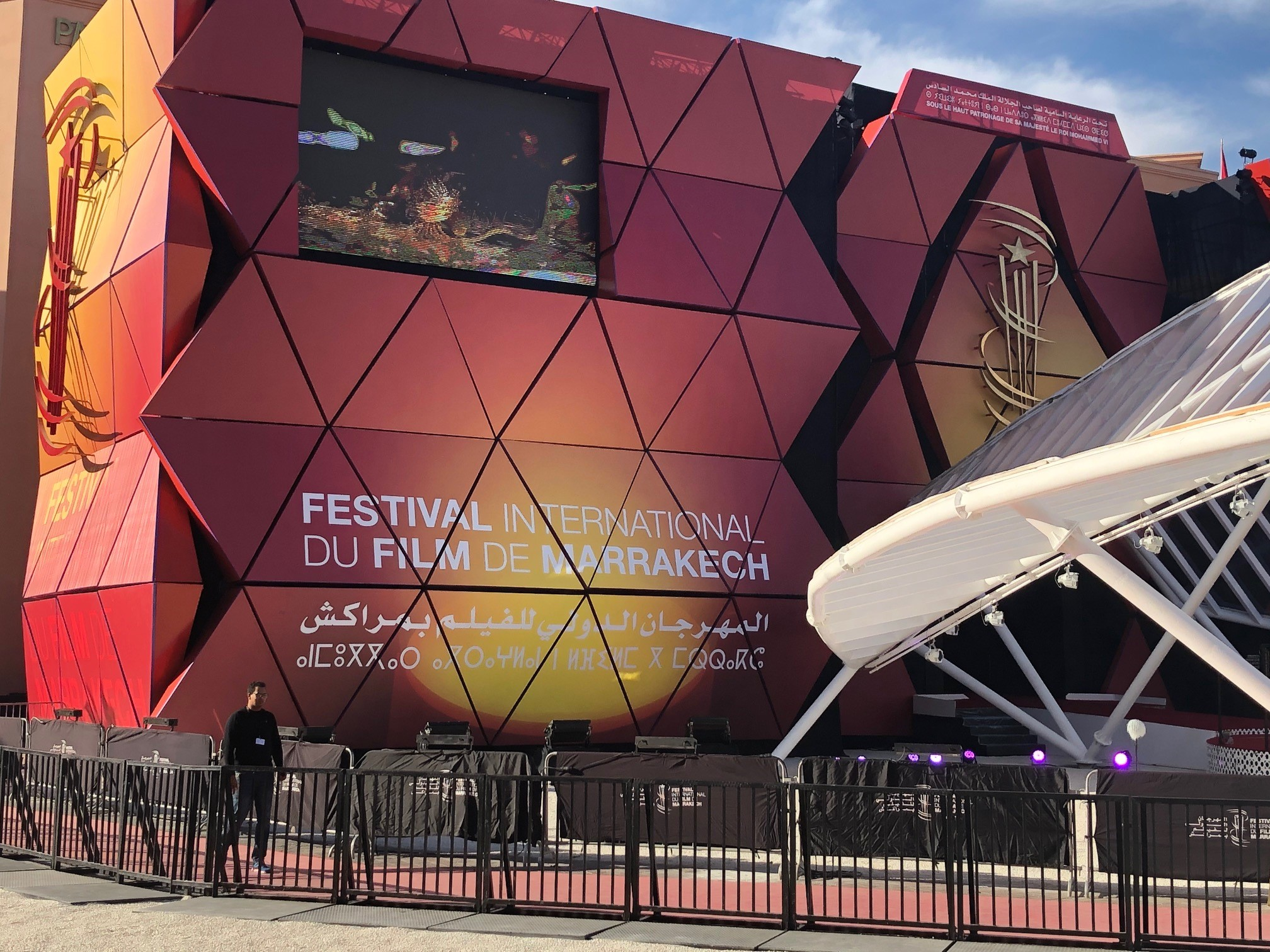 The 18th Marrakech International Film Festival in the central Moroccan city is held from November 29 to December 7 this year