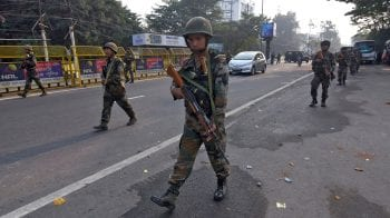 In Pictures: Troops deployed to curb violent protests over Citizenship Amendment Bill