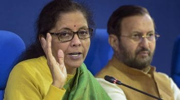 Nirmala Sitharaman says income tax rate cut under consideration
