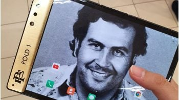 Pablo Escobar's brother launches $349 foldable smartphone