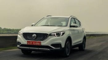 MG Motor unveils its electric vehicle MG ZS EV