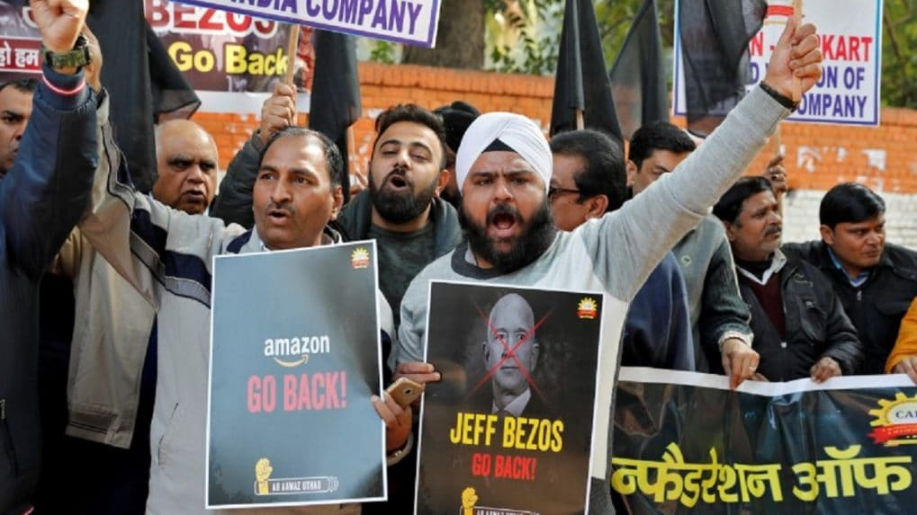 Startup Street: Only a few sellers are protesting against the company's policies, says Gopal Pillai of Amazon India