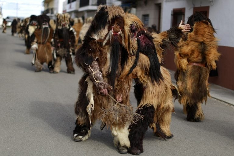 In Pictures: Spanish towns embrace peculiar old festivals