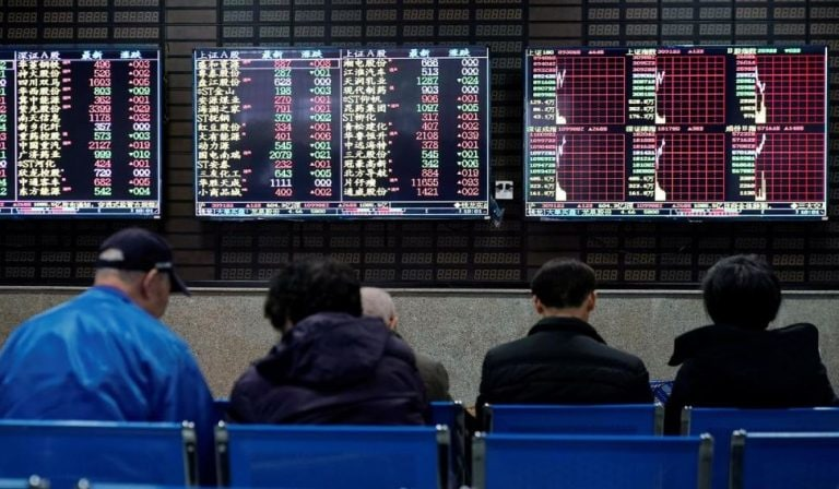 Asian stocks steady as caution on China virus continues; euro hits seven-week low after ECB