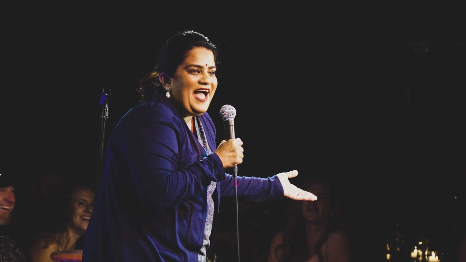 Zarna Garg, the stand up comic.