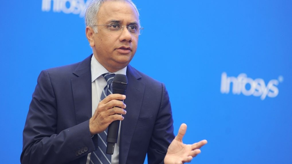 Comfortable with how margin is evolving; strong momentum in hi-tech verticals: Infosys' Salil Parekh