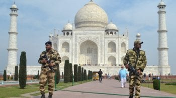 Bomb scare at Taj Mahal, high alert in Agra