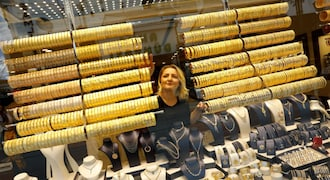 Gold rate today: Yellow metal trades marginally higher; may face resistance at Rs 49,700 level