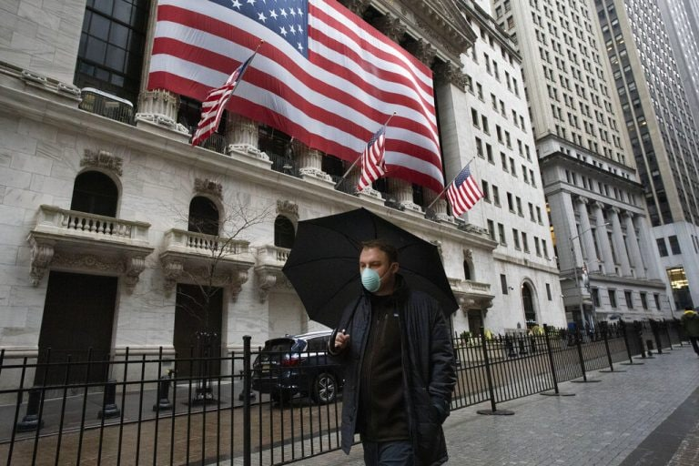 Wall Street rises on US Fed's $2.3 trillion rescue plan