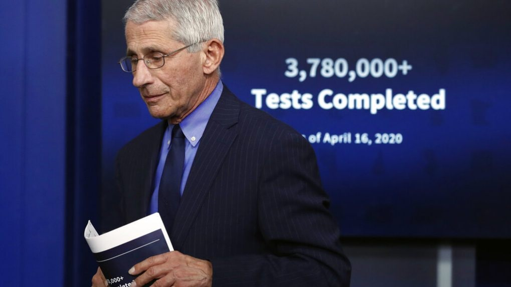 Getting people vaccinated only long-term solution to COVID-19 crisis in India: Dr Fauci