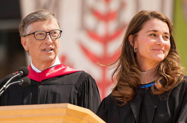 Bill and Melinda Gates | After 27 years of marriage the couple announced on May 4 that they are divorcing. It is unclear how the couple would split their fortune that is estimated to be over $100 billion. (Image: AP Photo)