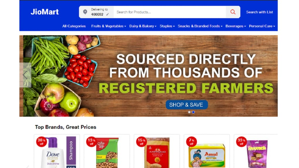 First impressions: JioMart website launches as service goes live across India