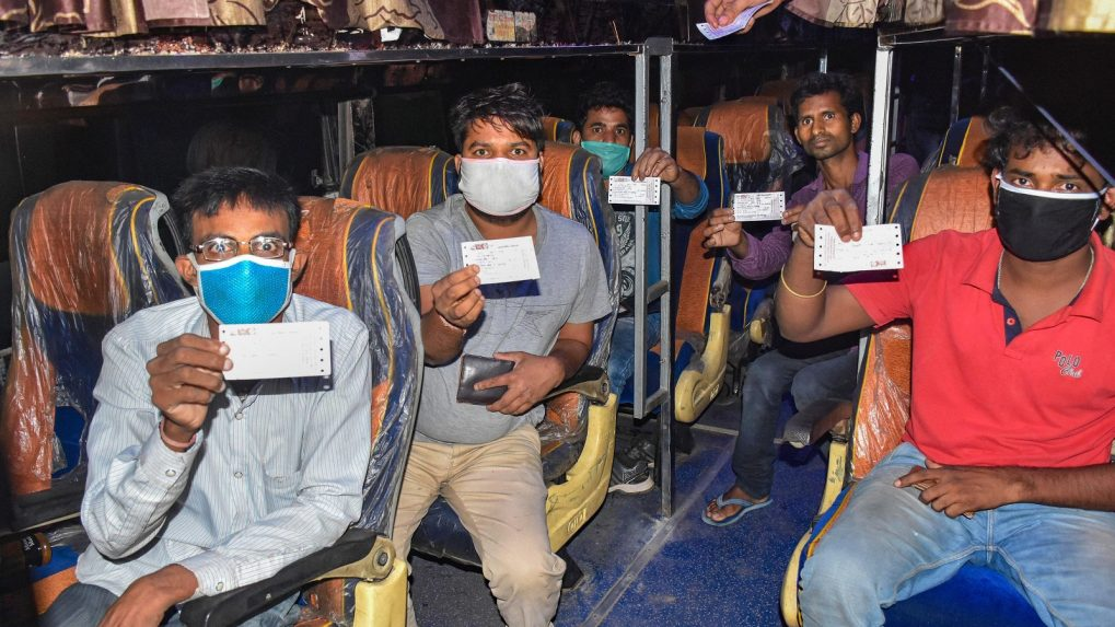 Migrant workers to be screened at railway stations, will not require certificate to travel to native places