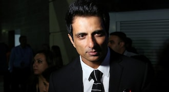 Income Tax Department officials at premises linked to actor Sonu Sood in Mumbai
