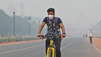 Delhi's air quality improves marginally as wind speed picks up, likely to turn 'very poor' by Wednesday