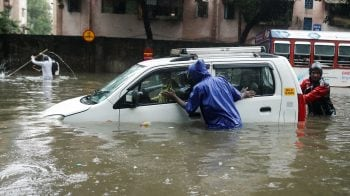 Mumbai rains today latest updates: Heavy rains hit local train, road services; BMC appeals residents to stay indoors
