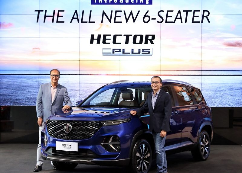 Overdrive: MG's 3-row variant Hector Plus; check design, specifications, features