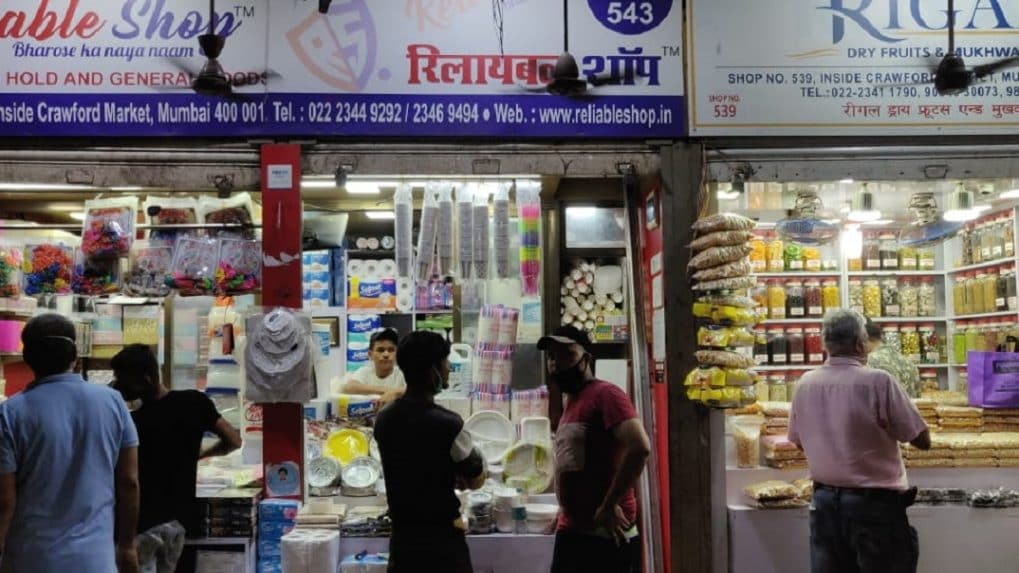 Mumbai's Crawford Market reopens but shopkeepers keep shutters down due to poor demand - See pics