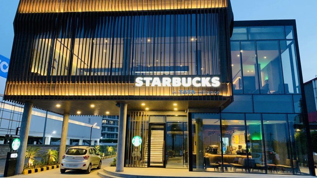 Here's a look at Tata Starbucks' first drive-thru restaurant in India