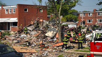 Blast destroys Baltimore homes; at least 1 dead, 5 trapped: firefighters