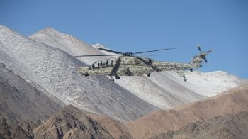 HAL s Light Combat Helicopters deployed for operations at Leh