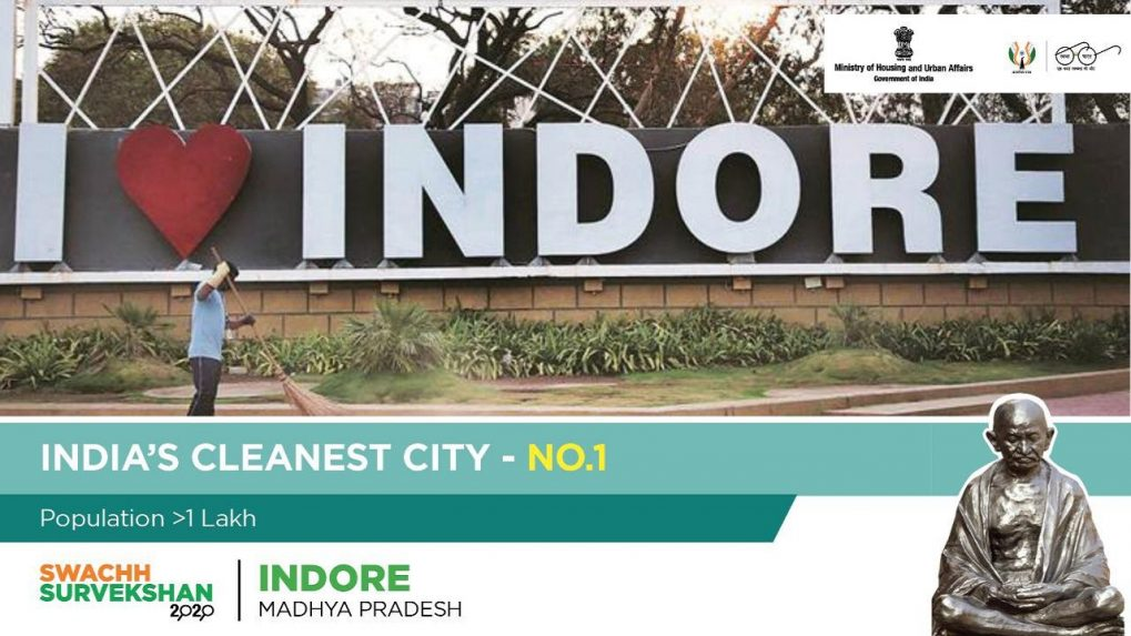 How Indore continues to be India's cleanest city 4 years in a row