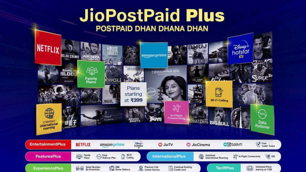 JioPostpaid Plus Plans: Jio partners with AeroMobile to launch India's first in-flight mobile services