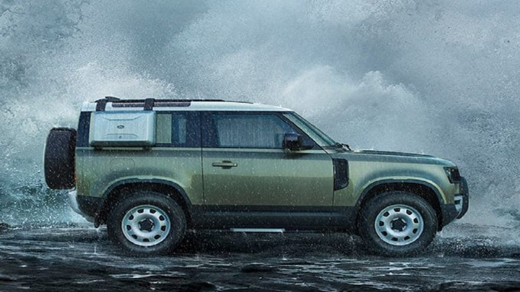 JLR commences bookings for plug-in hybrid version of Defender in India