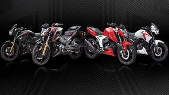 TVS Motor launches new variant of Apache RTR 200 4V at Rs 1.23 lakh
