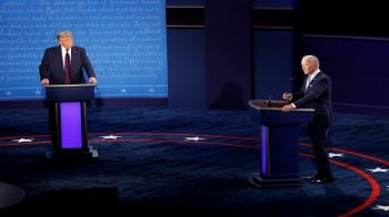 US Presidential Debate: Trump says he's right to choose SC nominee; Biden says should happen after election