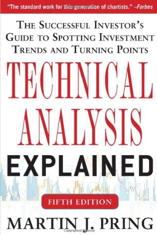 В этой книге Мартин Принг, который считается библией трейдинга, рассказывает о теориях, данных и истории рынков.  Если вы хотите научиться читать графики или зарабатывать на жизнь торговлей акциями, эту книгу просто необходимо прочитать.  Источник изображения: Amazon.com