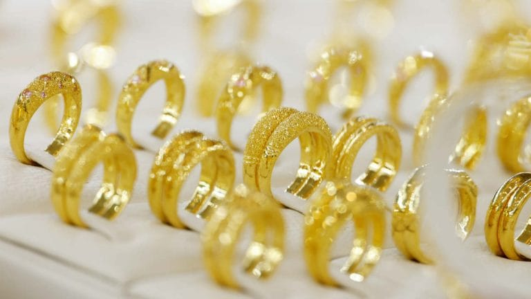 Gold rate today: Yellow metal trades above Rs 48,500 per 10 gms; Silver falls
