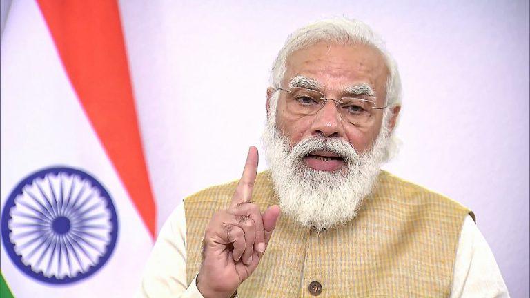Prime Minister Narendra Modi to address nation at 6 PM today