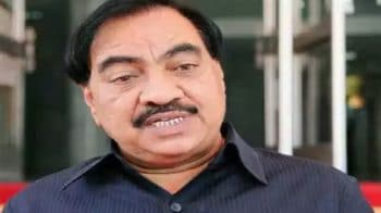 Senior BJP leader Eknath Khadse to join NCP: Maha minister