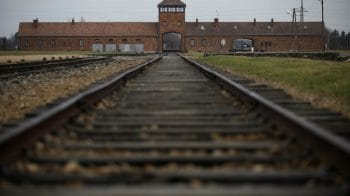 In pics: Auschwitz survivors observe 76th anniversary of liberation online amid pandemic