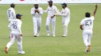 India versus Australia 4th Test: Rain delays India's chase of 328 at Brisbane