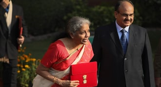 Nirmala Sitharaman reads out Budget 2021 from 'Made in India' tablet: All you need to know