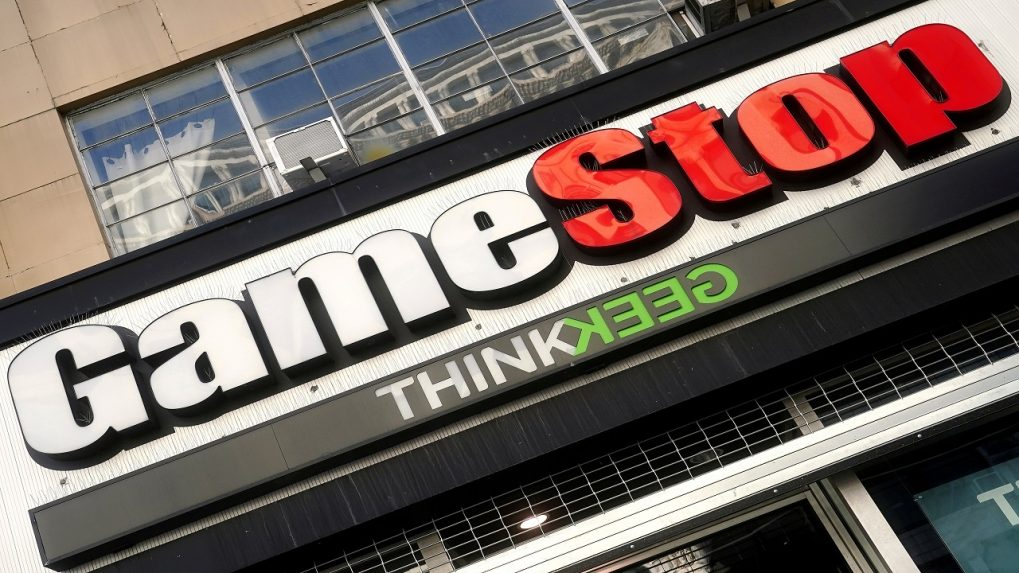 GameStop share gains as traders await quarterly report