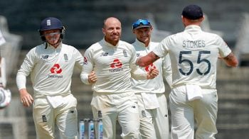 India take 33-run lead against England in the third test