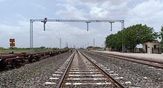 Rail vikas nigam share price, stock market, agreement, braithwaite & co